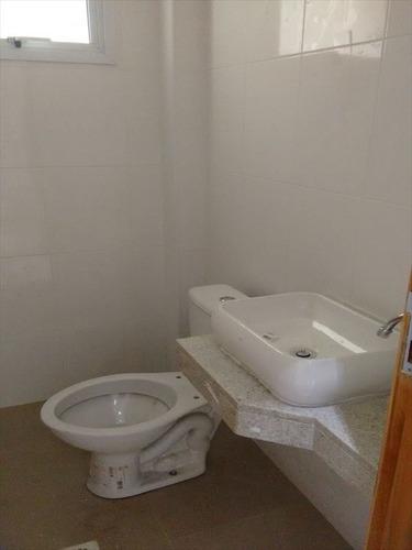 ref.: 262300 - casa em santos, no bairro embare - 3 dormitórios