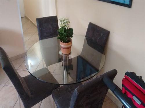 ref.: 263401 - apartamento em santos, no bairro encruzilhada - 2 dormitórios