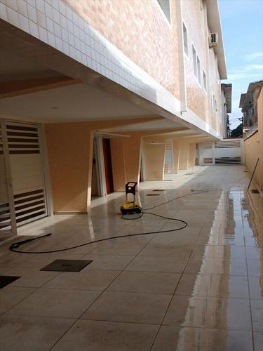 ref.: 263701 - casa em santos, no bairro encruzilhada - 2 dormitórios
