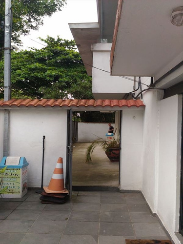 ref.: 264300 - casa em santos, no bairro gonzaga - 4 dormitórios