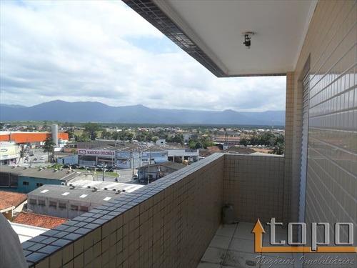 ref.: 2650 - apartamento em praia grande, no bairro guilhermina - 2 dormitórios