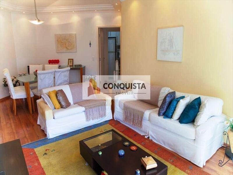 ref.: 266000 - apartamento em sao paulo, no bairro brooklin paulista - 3 dormitórios