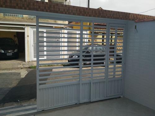 ref.: 267000 - casa em santos, no bairro macuco - 3 dormitórios
