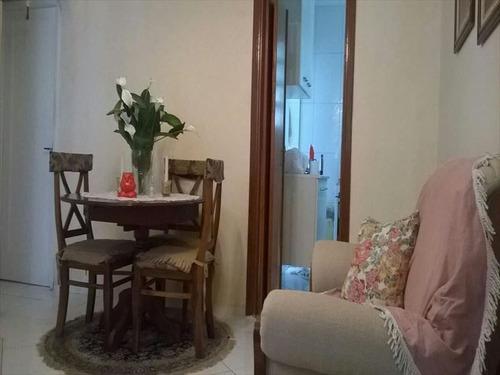 ref.: 267401 - apartamento em santos, no bairro boqueirao - 2 dormitórios