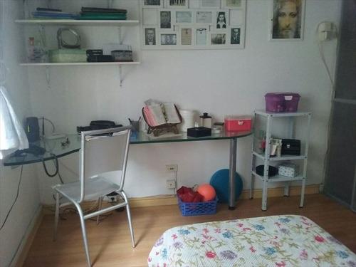 ref.: 267701 - apartamento em santos, no bairro boqueirao - 2 dormitórios