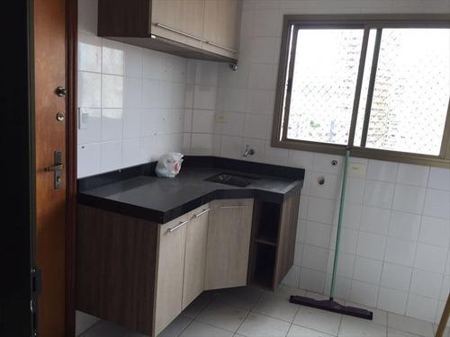 ref.: 268500 - apartamento em santos, no bairro boqueirao - 3 dormitórios
