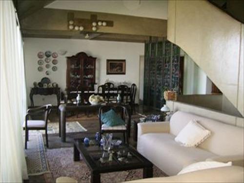 ref.: 269300 - casa condomínio fechado em santos, no bairro morro santa terezinha - 5 dormitórios