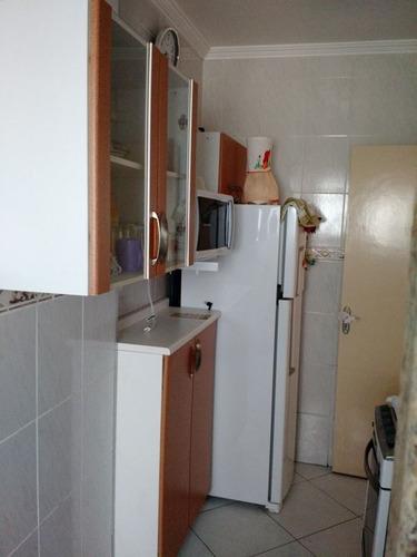 ref.: 2695 - apartamento em praia grande, no bairro mirim - 1 dormitórios