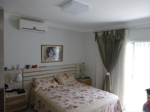 ref.: 270100 - casa condomínio fechado em santos, no bairro aparecida - 3 dormitórios