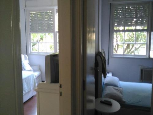 ref.: 270300 - apartamento em santos, no bairro pompeia - 3 dormitórios