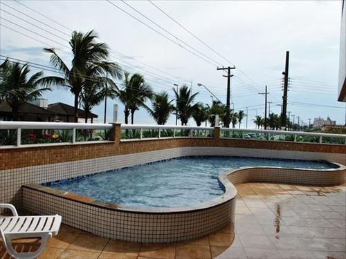 ref.: 2707 - apartamento em praia grande, no bairro caicara - 2 dormitórios