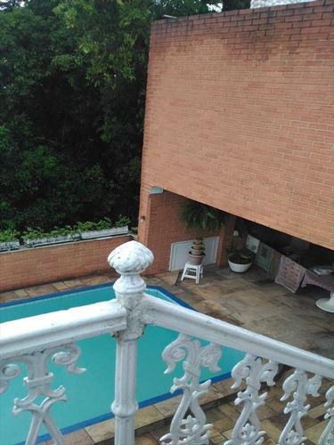 ref.: 271100 - casa condomínio fechado em santos, no bairro santa terezinha - 7 dormitórios