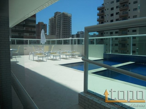ref.: 2714 - apartamento em praia grande, no bairro canto do forte - 3 dormitórios