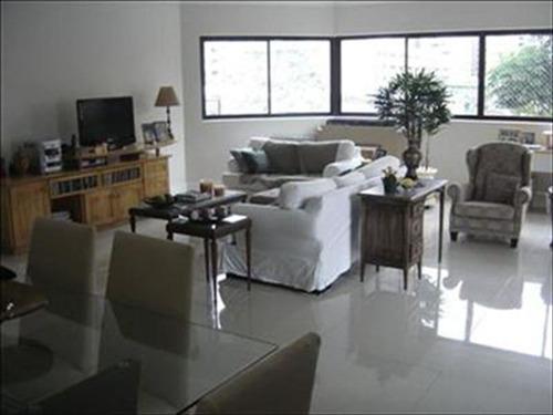 ref.: 271600 - apartamento em santos, no bairro boqueirao - 3 dormitórios