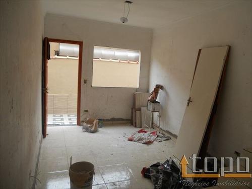 ref.: 2721 - casa condomínio fechado em praia grande, no bairro guilhermina - 2 dormitórios