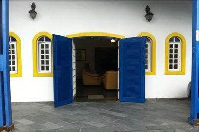 ref.: 27307 - casa em mongagua, no bairro nossa senhora de fatima - 4 dormitórios
