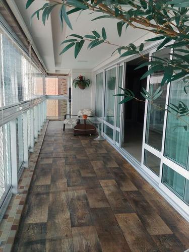 ref.: 273100 - apartamento em santos, no bairro gonzaga - 4 dormitórios