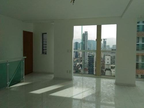 ref.: 273400 - apartamento em santos, no bairro gonzaga - 3 dormitórios