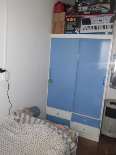 ref.: 2738 - apartamento em praia grande, no bairro mirim - 2 dormitórios