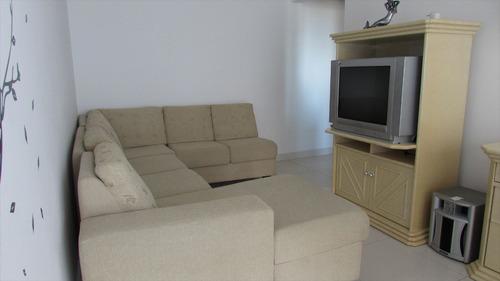 ref.: 274 - apartamento em praia grande, no bairro guilhermina - 1 dormitórios