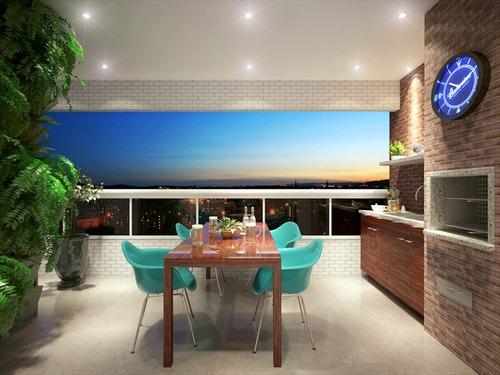 ref.: 2745 - apartamento em praia grande, no bairro canto do