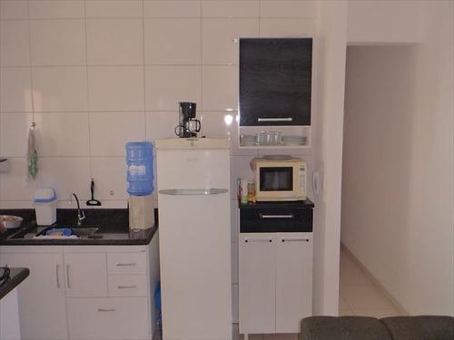 ref.: 2745 - apartamento em praia grande, no bairro guilhermina - 2 dormitórios