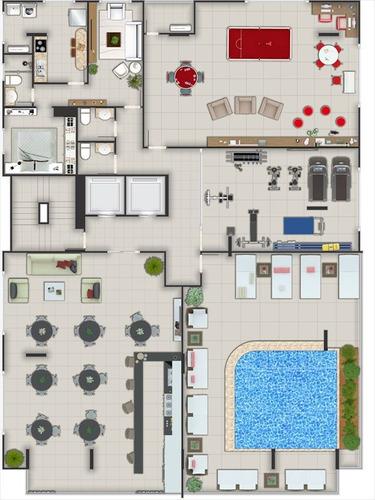 ref.: 2747 - apartamento em praia grande, no bairro canto do