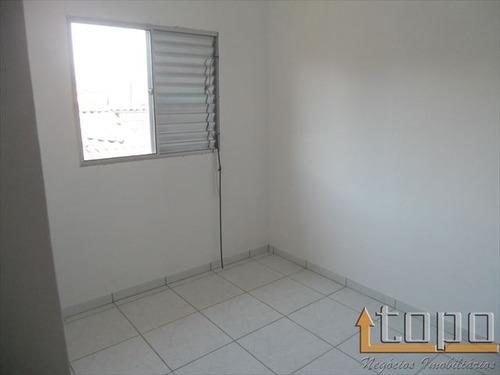 ref.: 2750 - casa condomínio fechado em praia grande, no bairro vila sonia - 2 dormitórios