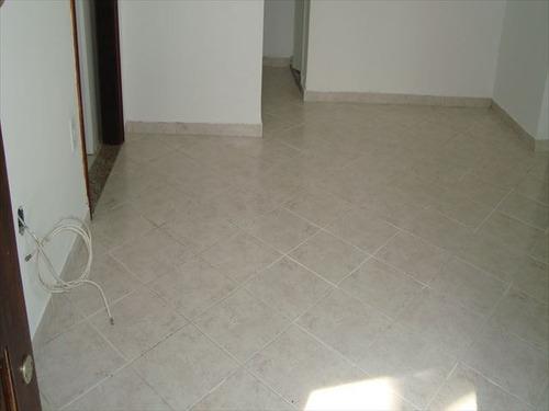ref.: 2754 - casa em praia grande, no bairro guilhermina - 2 dormitórios