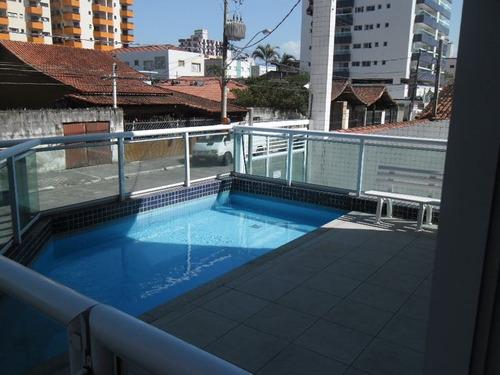 ref.: 2757 - apartamento em praia grande, no bairro ocian - 2 dormitórios