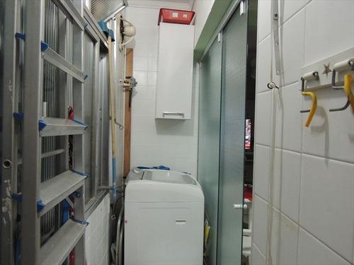 ref.: 276100 - apartamento em santos, no bairro boqueirao - 2 dormitórios