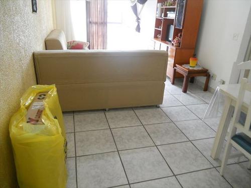 ref.: 2762 - apartamento em praia grande, no bairro guilhermina - 1 dormitórios