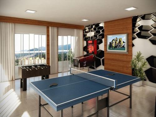 ref.: 2764 - apartamento em praia grande, no bairro guilhermina - 2 dormitórios