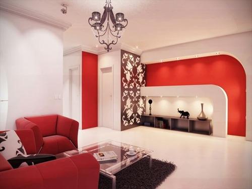 ref.: 2766 - apartamento em praia grande, no bairro guilhermina - 2 dormitórios