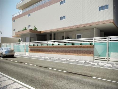 ref.: 2768 - apartamento em praia grande, no bairro guilhermina - 2 dormitórios