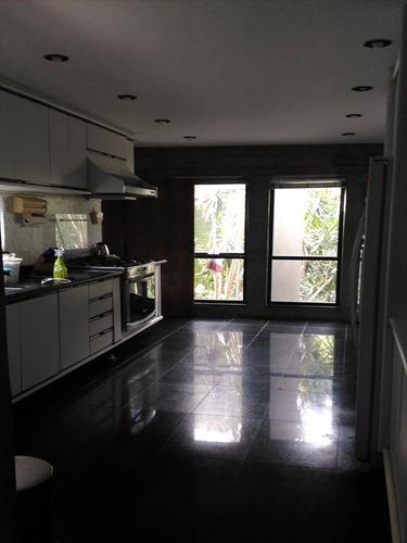 ref.: 277200 - casa condomínio fechado em santos, no bairro santa terezinha - 5 dormitórios