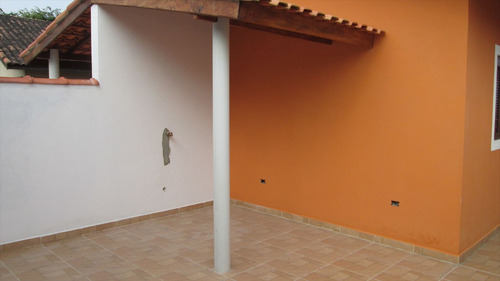 ref.: 27800 - casa em itanhaém, no bairro jardim suarão - 2 dormitórios