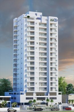 ref.: 27807 - apartamento em mongagua, no bairro centro - 2 dormitórios
