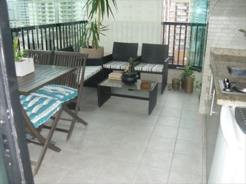 ref.: 279300 - apartamento em santos, no bairro pompeia - 3 dormitórios