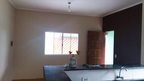 ref.: 2800 - casa em itanhaém, no bairro bal tupy - 2 dormitórios