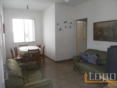 ref.: 2808 - apartamento em praia grande, no bairro guilhermina - 2 dormitórios