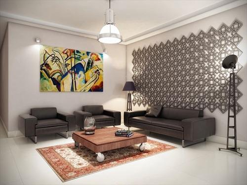 ref.: 2814 - apartamento em praia grande, no bairro canto do forte - 3 dormitórios