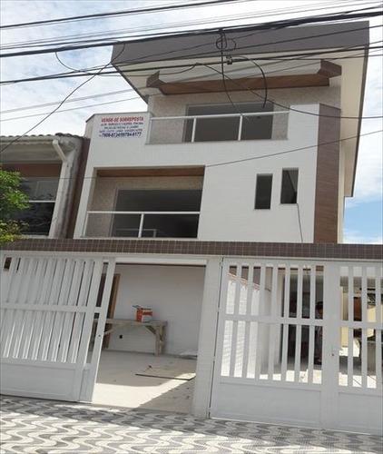 ref.: 281700 - casa em santos, no bairro embare - 3 dormitórios