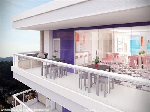 ref.: 2819 - apartamento em praia grande, no bairro canto do forte - 1 dormitórios