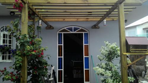 ref.: 282 - casa em itanhaém, no bairro jardim fazendinha - 4 dormitórios