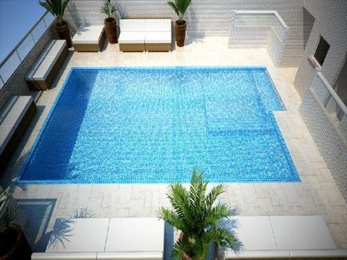 ref.: 2828 - apartamento em praia grande, no bairro guilhermina - 2 dormitórios