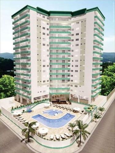 ref.: 2832 - apartamento em praia grande, no bairro guilhermina - 2 dormitórios