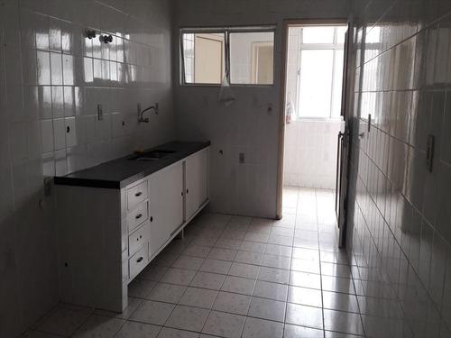 ref.: 283200 - apartamento em santos, no bairro boqueirao - 3 dormitórios