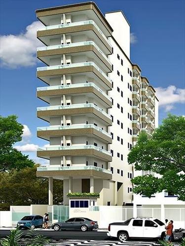 ref.: 2837 - apartamento em praia grande, no bairro canto do forte - 1 dormitórios