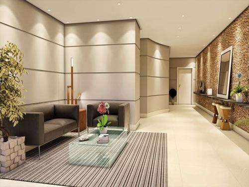 ref.: 2838 - apartamento em praia grande, no bairro canto do forte - 2 dormitórios